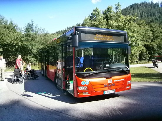 Kehlsteinhaus: The bus ride to the top is an event in itself!