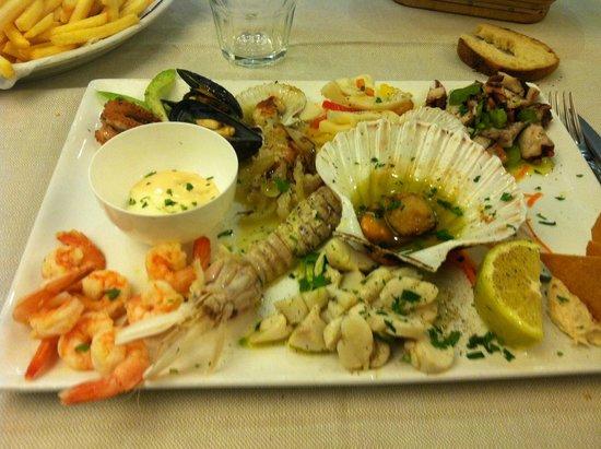 Ristorante Tempini : Gran antipasto di pesce