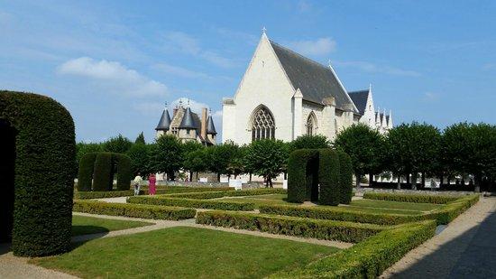 Château d'Angers : Vue à partir des remparts