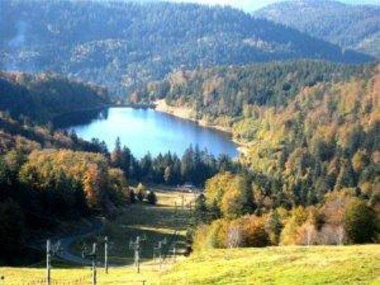 Au Pied des Chaumes : Le Lac de Kruth à 15min.