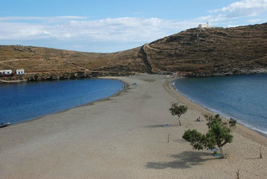 Kithnos, Hellas: Kolona beach @ off season period