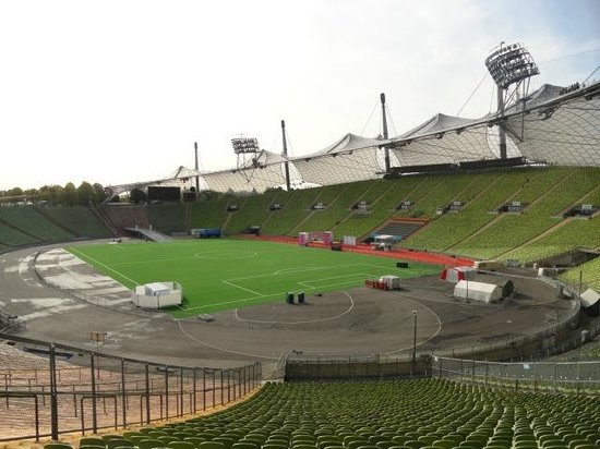 Olympiapark: View of the arena