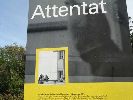 Olympiapark: Explanation of the attentat