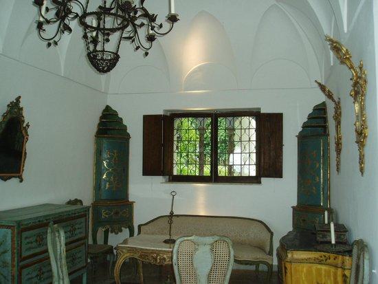 Villa San Michele : ヴィラの室内