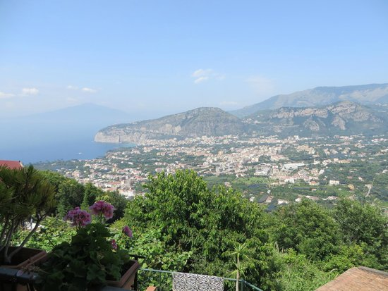 Villa Monica B&B: Amazing views of Sorrento