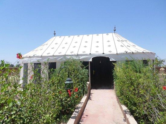 Les Jardins d'Issil: Notre tente