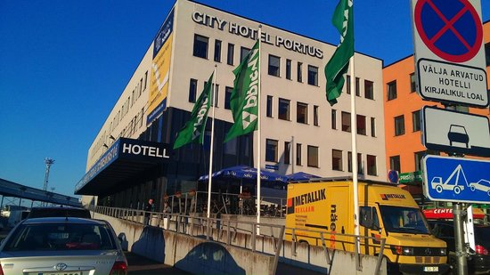 Tallinn Seaport Hotel: от порта