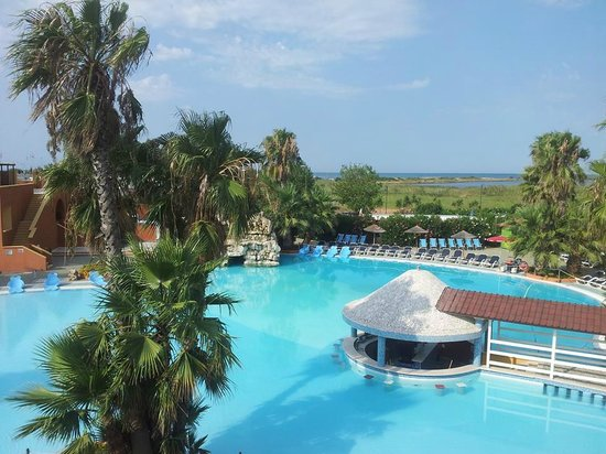 Esperia Palace Hotel: vista piscina