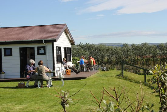 Kirkjubaer II Camping Site and Cottages: Enough space for everyone