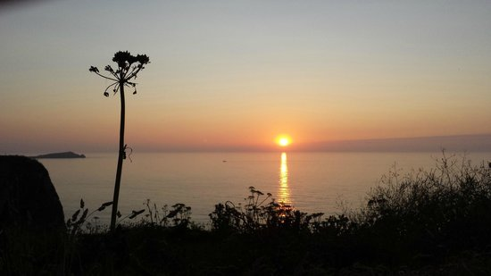 Westward Bed and Breakfast: Newquay Sunset