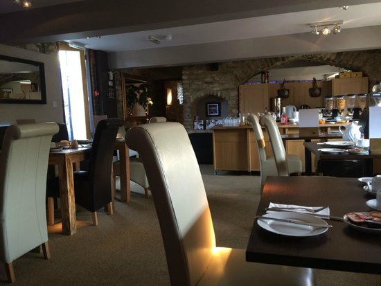 The George at Nunney : Ontbijtzaal