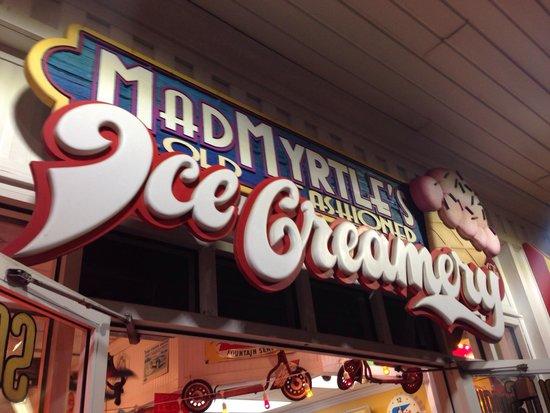 Photo of American Restaurant Madmyrtles Ice Cream at 918 N Ocean Blvd, Myrtle Beach, SC 29577, United States