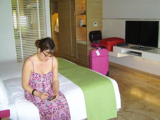 Amari Phuket: looking back into room