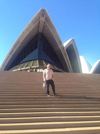 Sydney Harbour: the opera house