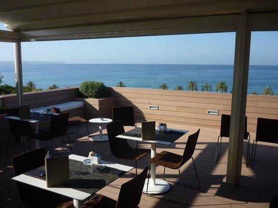 Boutique Hotel Calatrava: Breakfast terrace