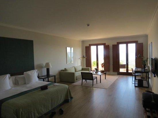 Boutique Hotel Calatrava: Room 12 lounge area