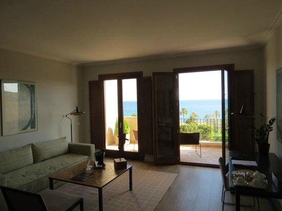 Boutique Hotel Calatrava: Room out to balcony