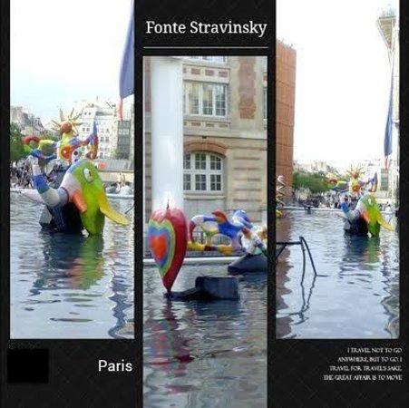 Fontaine Stravinsky: Fonte Stravinsky