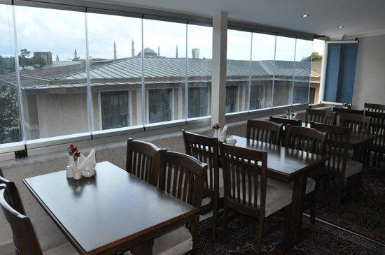 World Heritage Hotel Istanbul: Breakfast area