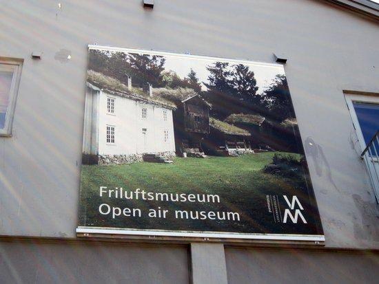 Kristiansand Museum: Museum Sign