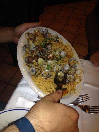 Ristorante Salerno: Spaghetto alle vongole