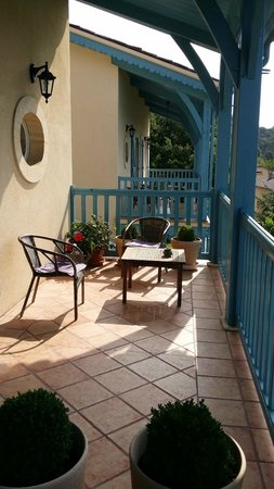 Maison Olea : The balcony of one of the rooms