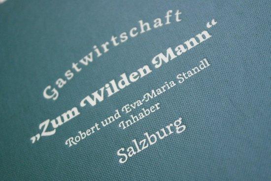 Gasthaus Wilder Mann: Zum Wilden Mann Salzburg