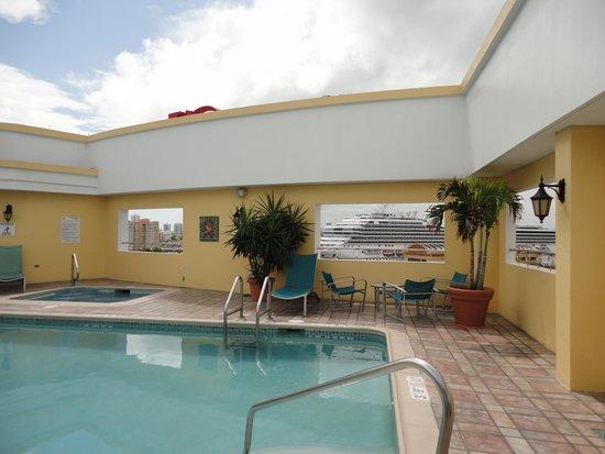 Sheraton Old San Juan Hotel : Piscina Hotel