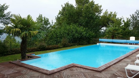Maison Olea : The pool - located in the back garden