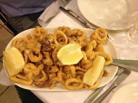 Ristorante Salerno: Frittura di calamari