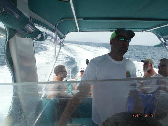 New Horizons Day Sail: Captain Rob as he navigates through the Caribbean!