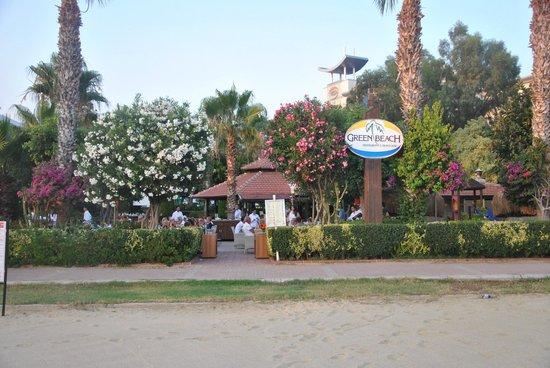 Green Beach Restaurant: Green Beach
