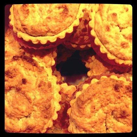 The Clock House: Tasty almond bake wells!