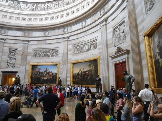 Capitol Hill: Vista parcial da visita