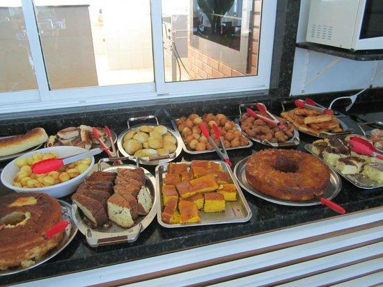 Samba Foz do Iguassu: Parte del desayuno