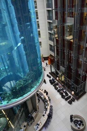 Radisson Blu Hotel, Berlin: View from floor 5 room 5128