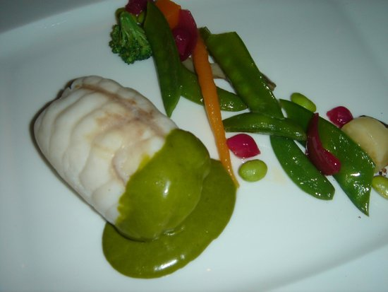 Armani/Ristorante : Monkfish main course