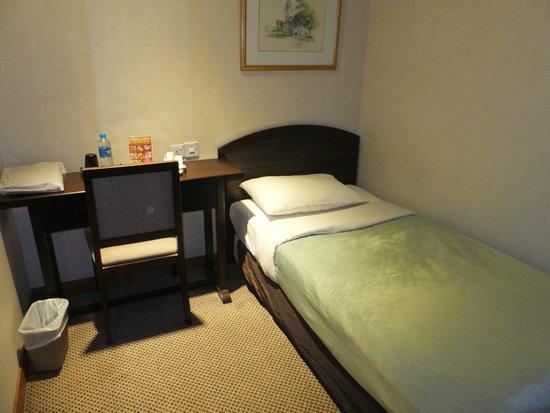 Ambassador Transit Hotel Terminal 2: テレビのないビジネスホテルという感じ
