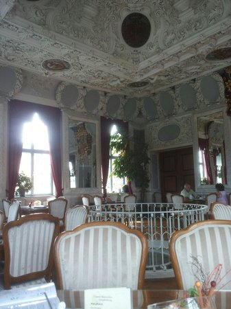 Meiningen, Niemcy: Ein stilvolles Kaffee
