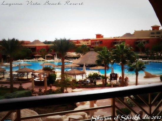 Laguna Vista Beach Resort : La vista dalla nostra camera