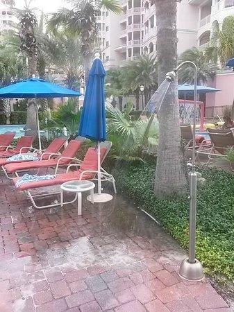 Hammock Beach Resort : Broken shower wasting water...