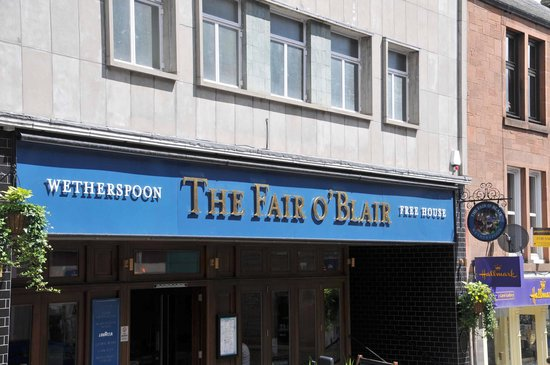 The Fair O'Blair: Entrance on Allan St.