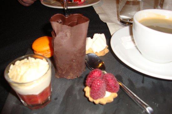 Brasserie Sztuka: copieux café gourmand