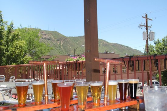 Steamworks Brewing Co : Back porch tasting