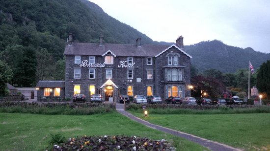 The Borrowdale Hotel: Front of hotel
