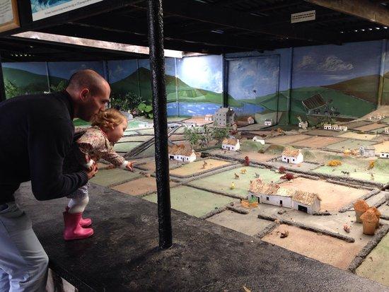 Doagh Famine Village : The miniature village was a big hit!