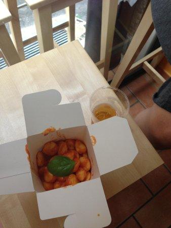 Italian delicious Gnocchi