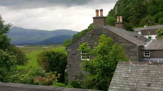 The Borrowdale Hotel: View from our room