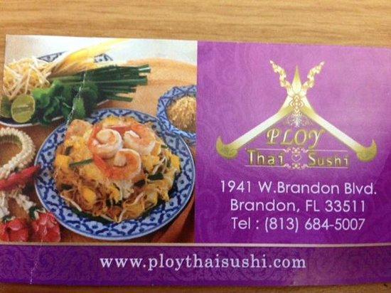 Ploy Thai: Contact details