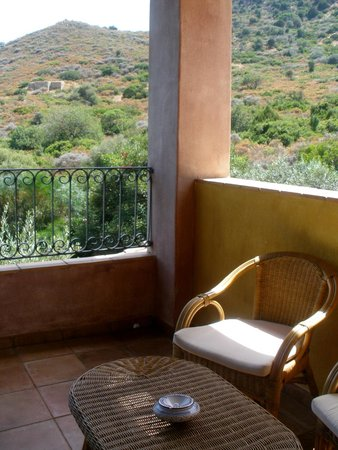 Cruccuris Resort: unser grosser Balkon